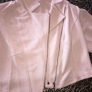 torrid Jackets & Coats - Torrid 3 Moto jacket dusty blush rose